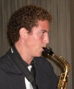 Jean-Emile Jammine on saxophone