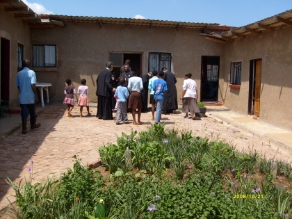 The orphanage in Atteridgeville West