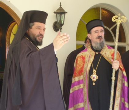 Archbishop Seraphim and Bishop Atanasije