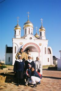 St Sergius of Radonezh Church in Midrand, with members of our Mamelodi congregation who were visiting for the partonal festival