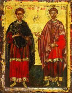 Holy Unmercenary Doctors Cosmas & Damien