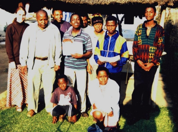 Some of the young people who were at the catechism class at Sibiya's house on 24-Jul-1999