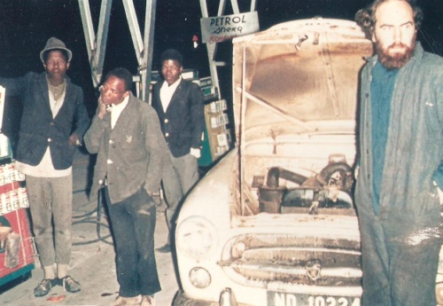 Midnight 19/20 July 1969 - Vanzylsrust, Northern Cape