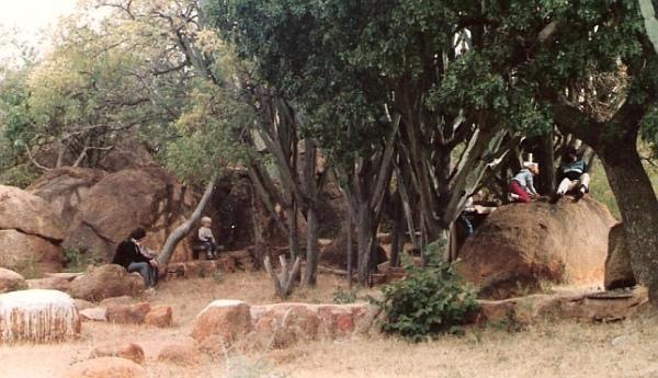 Manche Masemola's grave at Marishane
