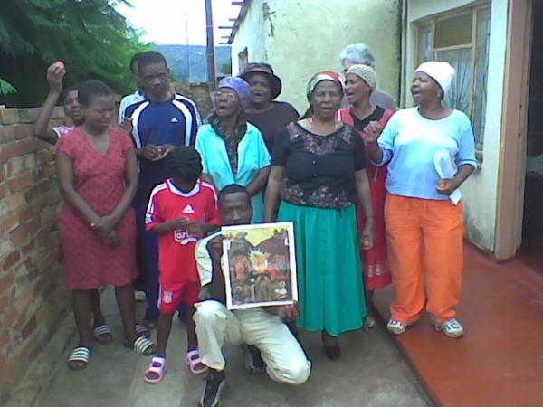 Pascha in Mamelodi 2010