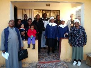 Mamelodi church meeting 30 July 2011