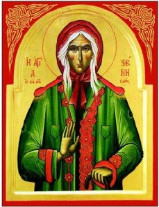 St Xenia of St Petersburg, Fool for Christ