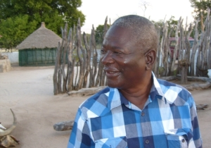 Joseph Kakehongo at home in Onekwaya, 2013