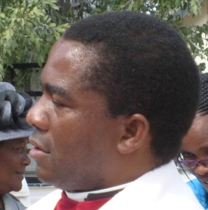 Fr Lukas Katenda, diocesan secretary of the Anglican Diocese of Namibia