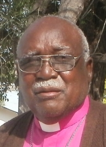 Bishop Emeritus Shihala Hamupembe in 2013