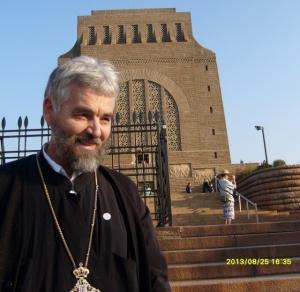 Fr Kobus van der Riet at the Voortrekker Monument