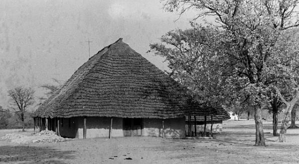 Holy Cross Anglican Church, Onamunama, Ovamboland, Namibia, September 1971