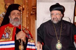 Kidnapped Syrian bishops: Metropolitan Boulous Yazigi and Metropolitan Mar Gregorios Yohanna Ibrahim