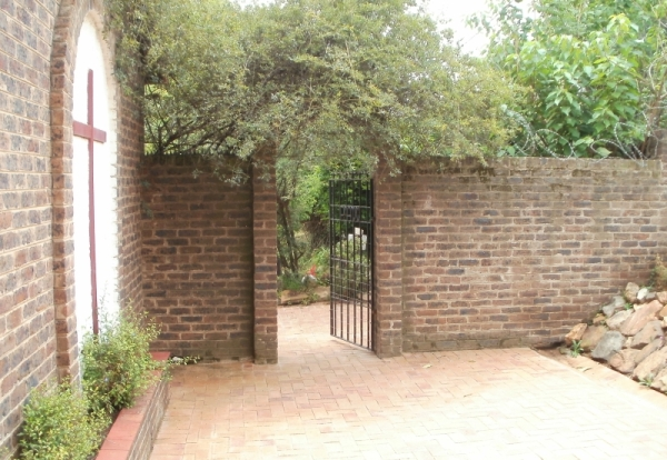 St Benedict's House, garden entrance, 2014