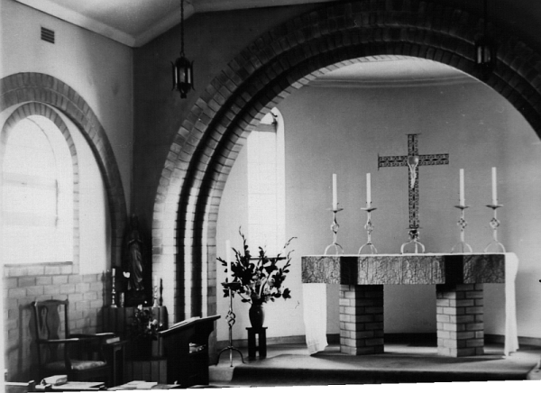 St Benedict's House Chapel, August 1959