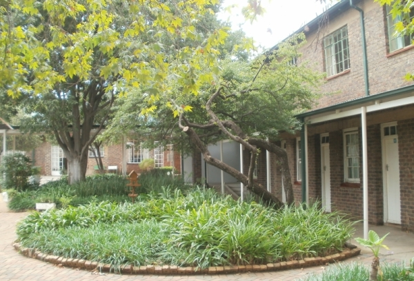 St Peter's Lodge, Rosettenville, 2014. Now used as a conference centre, fifty years ago it was a theological seminary run by the Community of the Resurrection