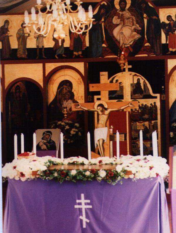 St Nicholas Church, Brixton, Johannesburg, on Good Friday, 29 April; 1994