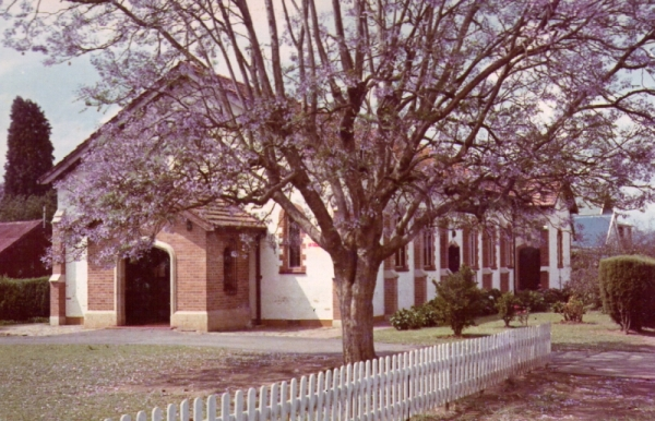 St Alphege's Church, October 1964 (the jacarandas were blooming)