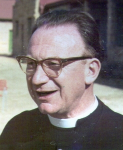 Revd Mervyn Sweet, Vicar of St Alphege's in 1964.