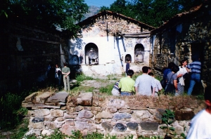 Is the state of Christian blogging a bit like this ruined church in an Albanian village?