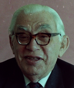 Prof Edgar Brookes, historian