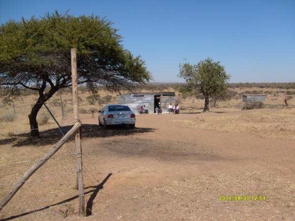 The shack church at Madidi.