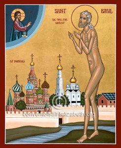 St Basil, Fool for Christ of Moscow