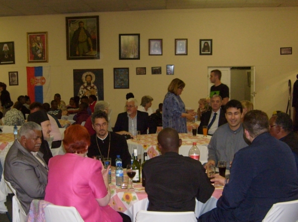 Supper at the St Thomas's patronal festival