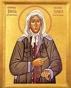 St Xenia, Fool for Christ of St Petersburg