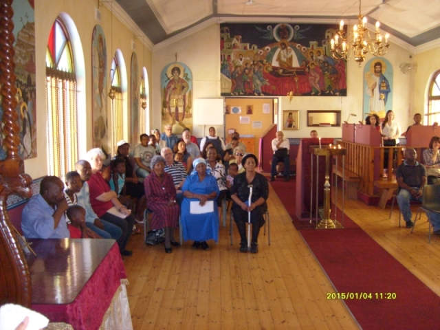 St Nicholas Orthodox Church, Brixton, Johannesburg.