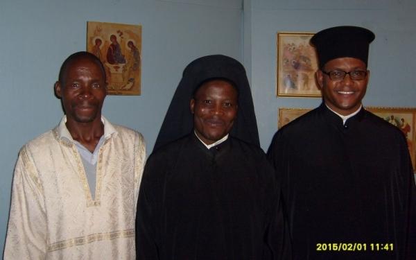 Johannes Baloyi, Archimandrite Athanasius Akunds, Protopresbyter Evangelos Thiane