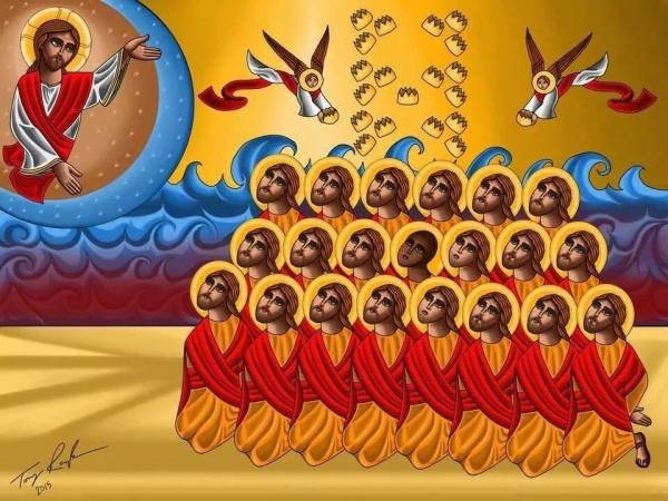 The 21 martyrs of Liby