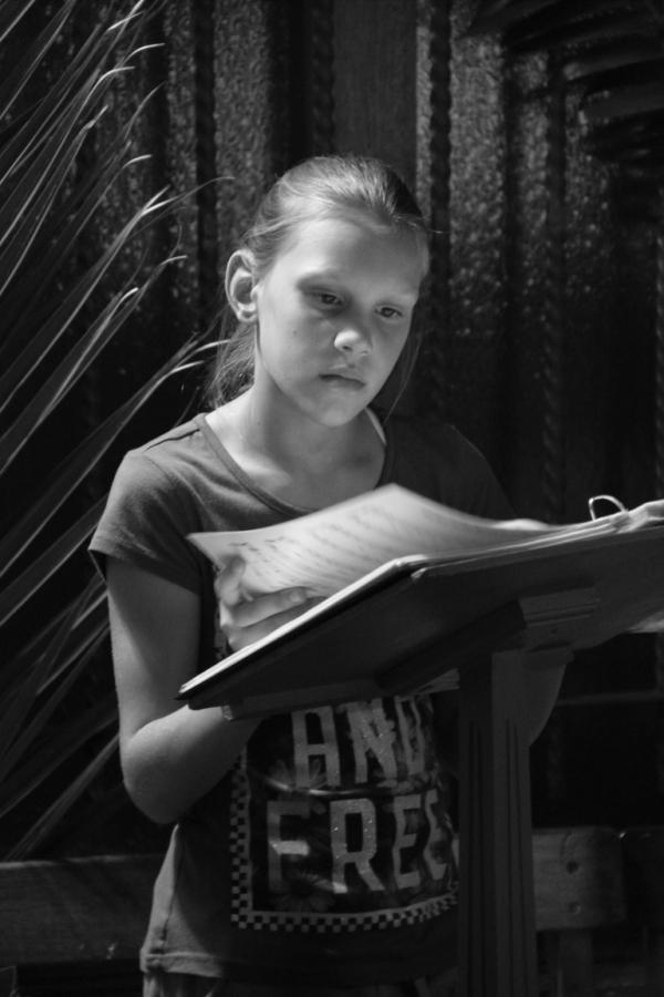 Angela Krunic, age 11 (Photo by Jethro Hayes)