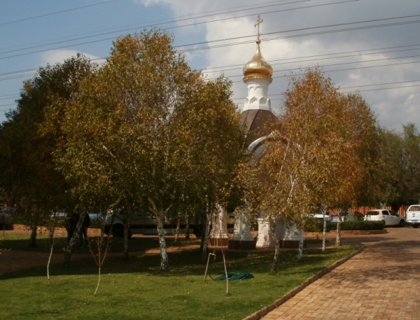 Chapel dedicatede to St Vladimir, in memory of the Russians killed in the Anglo-Boer War