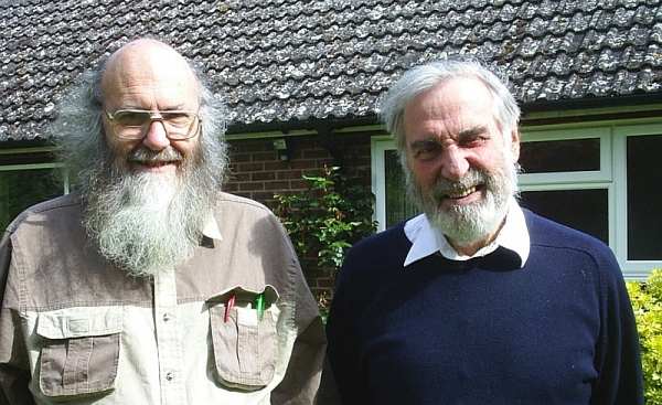 Deacon Stephen Hayes and Fr Michael Harper 14 May 2005