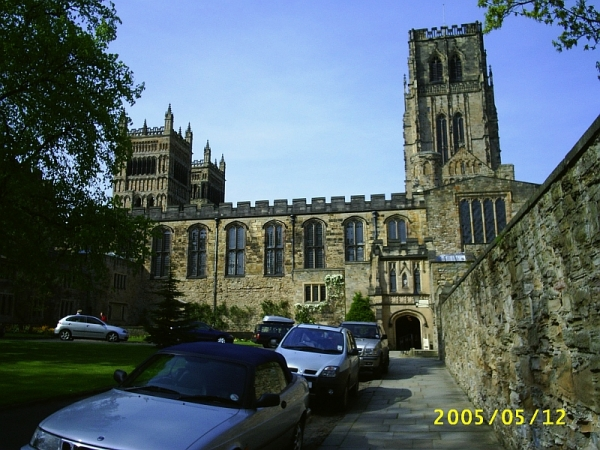 Durham Cathedral from the chapter close
