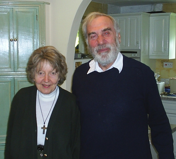 Jeanne and Michael Harper, Harston, Cambridgeshire, 15 March 2005