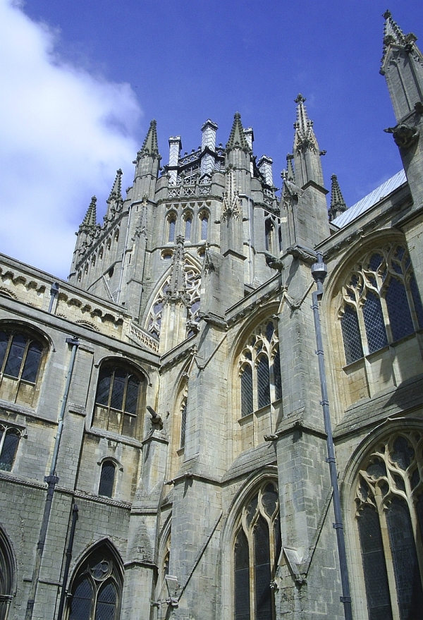 Eliy Cathedral, Cambridgeshire. 14 May 2005