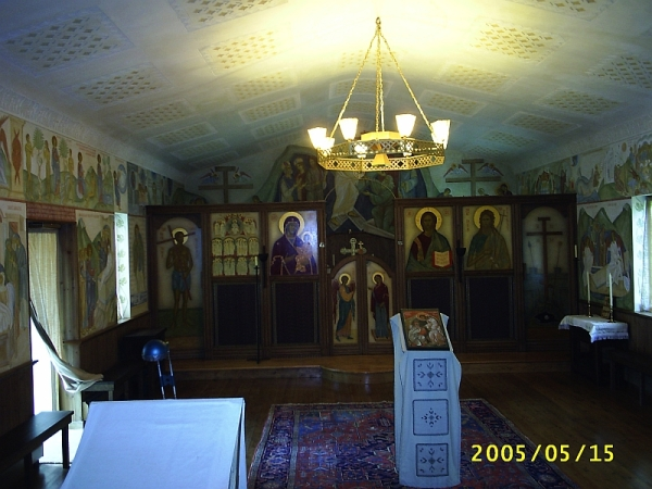 Chapel at the monastery of St John the Baptist, Tolleshunt Knights, Essex. 15 May 2005