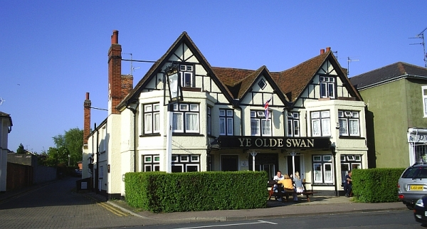 Hotel in Brightlingsea, Essex. 15 May 2005