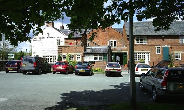 Ye Old Boot pub at Whittington
