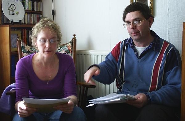 Mat & Mark Davies. 8 May 2005