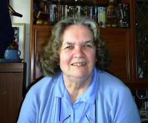 Shirley Davies at Gobowen, 8 May 2005.