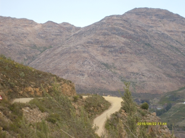 The Middelberg Pass over the Cederberg