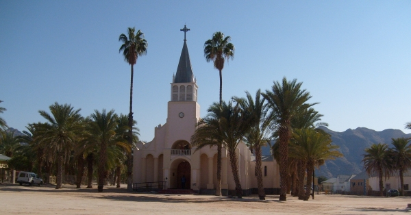 The mission church at Pella, near the Orange River