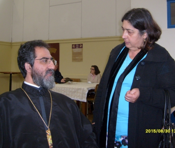 His Eminence Metropolitan Sergios, Archbishop of the Cape of Good Hope. 30 August 2015