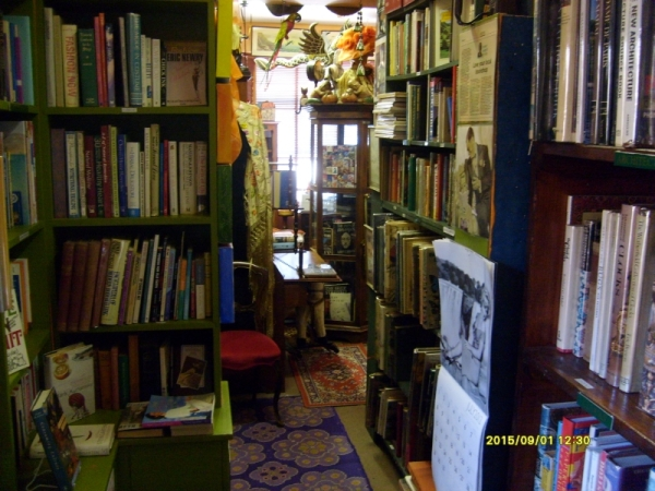 Hemingway's book shop, Hermanus