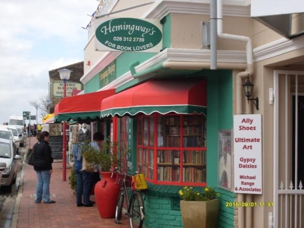 Hemingway's Bookshop, Hermanus