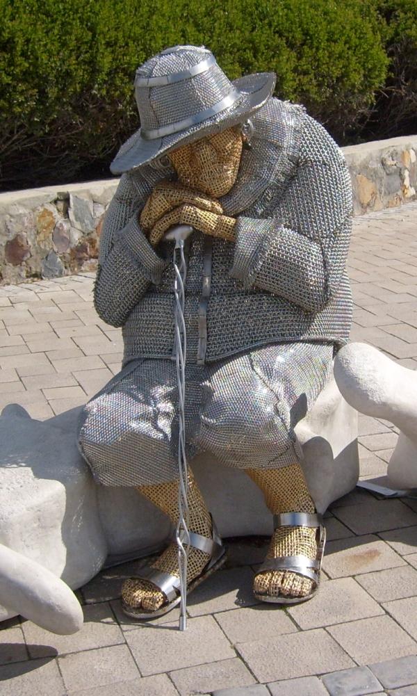 Seafront sculpture, Hermanus