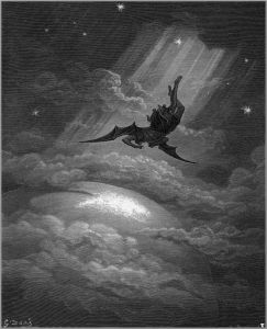 Gustave Doré's illustration for Milton's Paradise Lost, III,